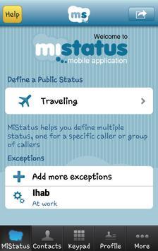 MiStatus apk screenshot