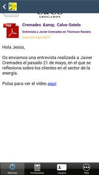 Cremades & Calvo-Sotelo apk screenshot