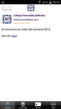 Colegio Romualdo Ballester apk screenshot