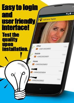 iQfon Cheap International Call apk screenshot