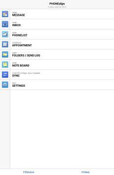 PHONEslips apk screenshot