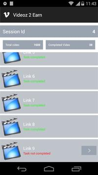 Videoz 2 Earn apk screenshot