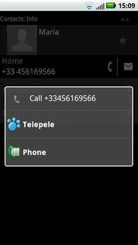Telepele Latvia - free calls apk screenshot