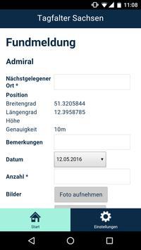 Tagfalter Sachsen apk screenshot