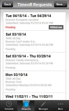 Runfido Scheduling apk screenshot