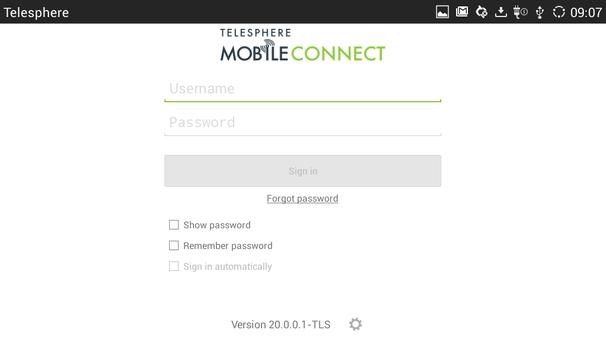 MobileConnect for Tablet poster