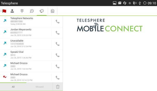 MobileConnect for Tablet apk screenshot