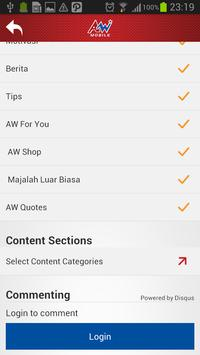AW Mobile apk screenshot