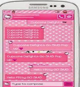Theme BBM HELLO KITTY tutorial apk screenshot