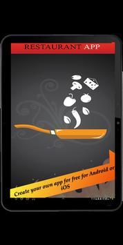 CMA Restaurant App apk screenshot