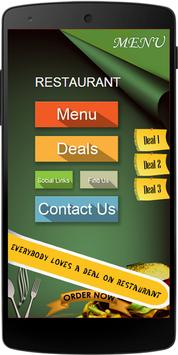 CMA Restaurant App poster