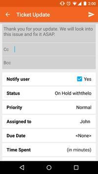 HappyFox -Your Mobile Helpdesk apk screenshot