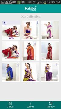 Sahiba Fabrics apk screenshot