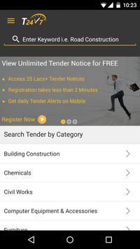 Tender247 App poster