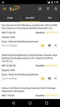 Tender247 App apk screenshot