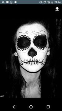 Day of the Dead Make Up apk screenshot
