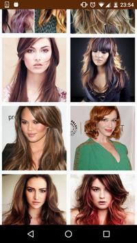 Hair Color Trends apk screenshot