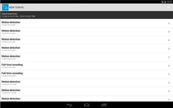 NEW TENVIS apk screenshot