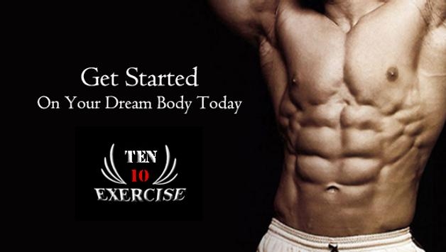 Ten Exercise Workout poster