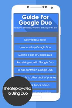 Guide to use GG Duo Call poster