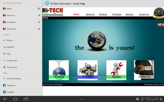 Hi-Tech International apk screenshot