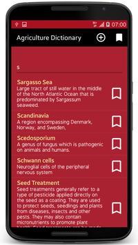Agriculture Dictionary apk screenshot