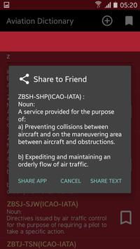 Aviation Dictionary apk screenshot
