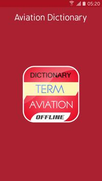 Aviation Dictionary poster