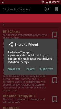 Cancer Dictionary apk screenshot