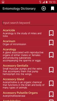 Entomology Dictionary poster