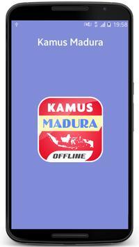 Kamus Madura poster