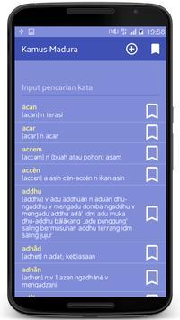 Kamus Madura apk screenshot