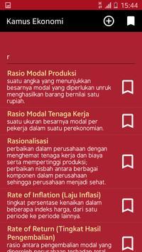 Kamus Ekonomi poster