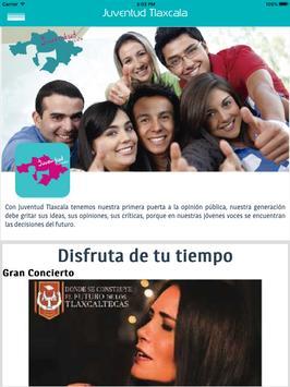 Juventud Tlaxcala apk screenshot