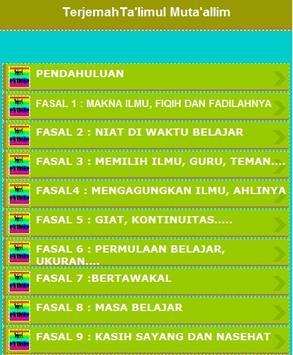 Terjemah Kitab Ta'lim apk screenshot