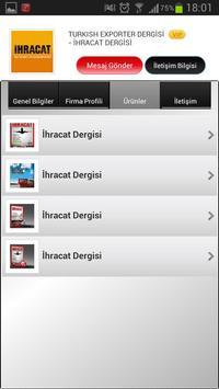 TurkishExporter Mobile apk screenshot
