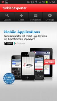 TurkishExporter Mobile poster