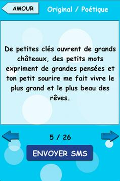 Textesms - idées messages SMS apk screenshot