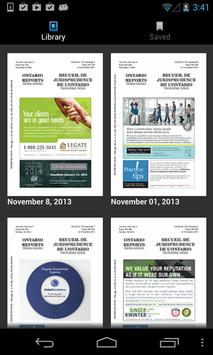 LSUC – Ontario Reports poster