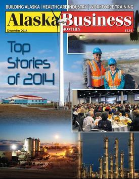 Alaska Business Monthly poster