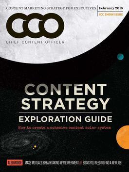 Content Marketing Institute poster