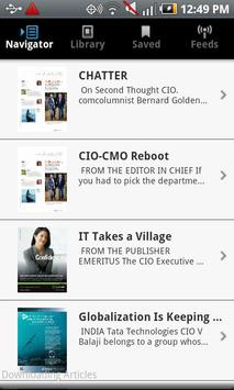 CIO Magazine apk screenshot