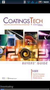 CoatingsTech poster