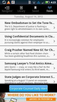Corporate Counsel Dig Edition apk screenshot