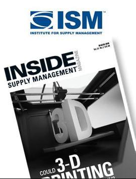 ISM Magazine poster