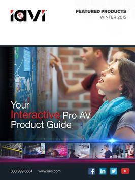 IAVI Interactive Product Guide poster