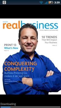 RealBusiness Magazine by Xerox poster