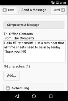 Messenger Mobile apk screenshot