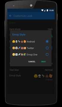 Textra Emoji - Android Style poster