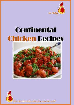 Continental Chicken Recipes poster